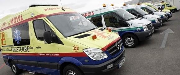 Trescientos trabajadores de transporte sanitario de Toledo mejoran su actual situación por el acuerdo firmado por UGT