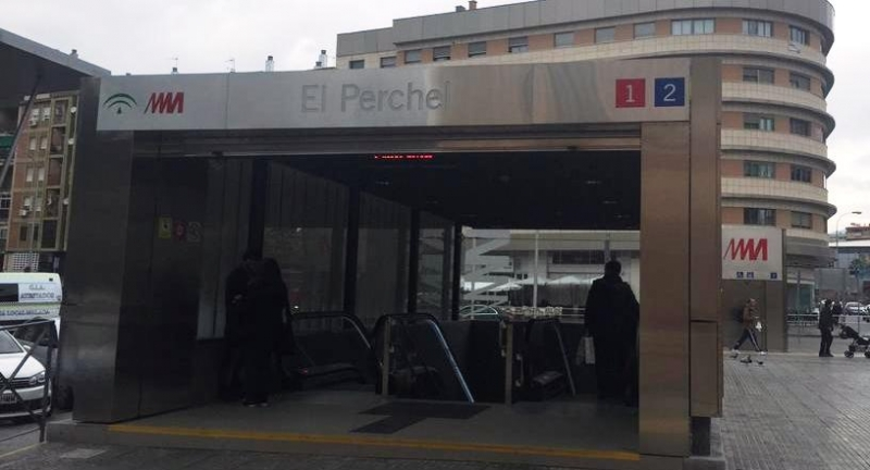 UGT trabaja para desbloquear el trazado del metro de Málaga, desde Alameda hasta El Civil