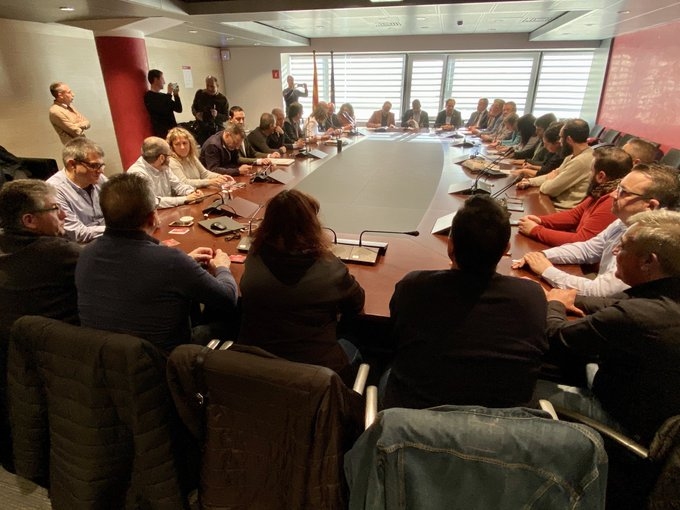 Firmado el convenio del sector de transporte de mercancías y logística de la provincia de Barcelona