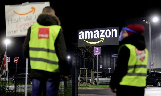 La Inspección de Trabajo da la razón a UGT contra las subcontratas de Amazon