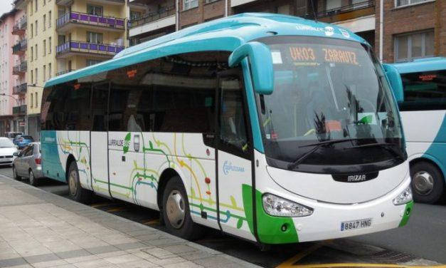 UGT califica de incompleto el estudio encargado por Diputación de Gipuzkoa para detectar 'posibles afecciones' en los servicios de transporte interurbano